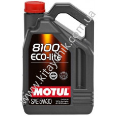 Масло моторное MOTUL 8100 ECO-LITE SAE 5W30 4L