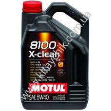 MOTUL 8100 X-CLEAN SAE 5W40 4L