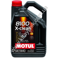 Масло моторное MOTUL 8100 X-CLEAN SAE 5W40 4L