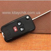 Корпус выкидного ключа BYD F3/F3R (Бид Ф3)
