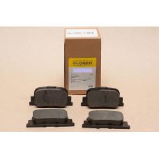 Колодки тормозные задние BYD F3/F3R/F3New/G3