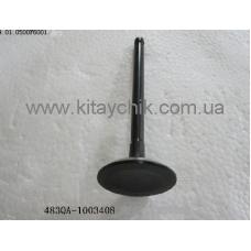 Клапан впускной BYD F6/G6/S6(Бид Ф6/Ж6/C6) 1.8/2.0