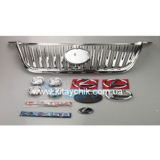 Решетка (хром) и эмблемы Lexus для BYD S6