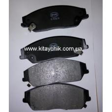 Колодки тормозные передние BYD S6 (Бид С6)
