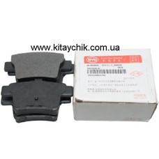 Колодки тормозные задние BYD S6 (Бид С6)